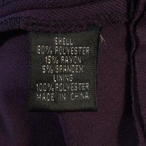 Adrianna Papell Dresses - Dark Purple Fit & Flare Dress Sz 6